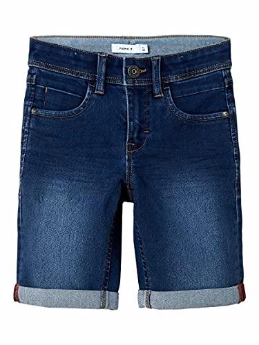 Name It Nkmsofus Dnmtax 2012 Long Shorts Noos, Bleu (Medium Blue Denim Medium Blue Denim), 140...