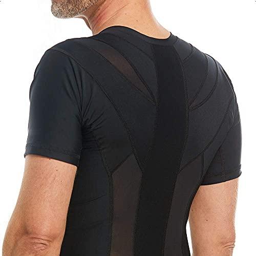 Anodyne Posture Shirt 2.0 - Hommes | Correcteur De Posture Du Dos & Épaules | Posture Corrector Tee Shirt | Réduit la douleur et la tension | Testé et approuvé médicalement | prix et achat