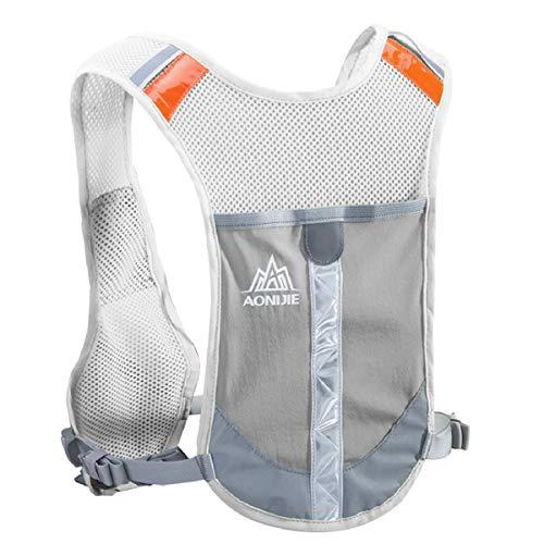 TRIWONDER Gilet Trail Sac d'Hydratation Gilet de Course Réfléchissant Veste Running Sac à...
