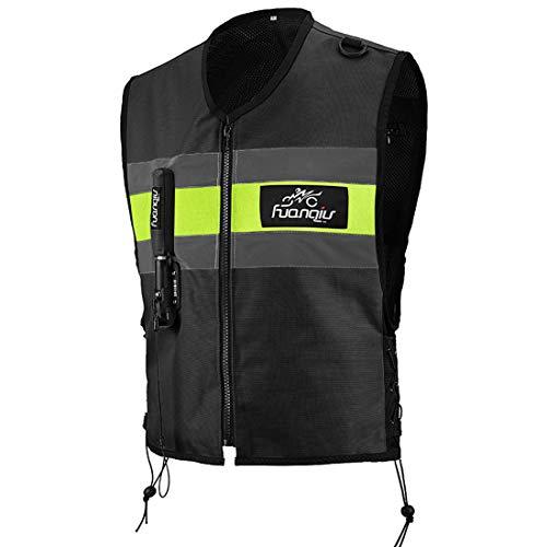 Gilet Air-Bag avec Bande Réfléchissante pour Motocross, Gilet Réfléchissant pour Airbag,...