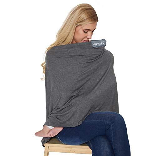 Écharpe d'allaitement pour bébé servant aussi de foulard de marque Neotech Care - Couverture...