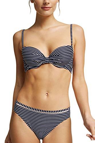 Esprit 991EF1A328 haut de Bikini -Femme -Bleu (navy/401) - Taille Fabricant:36B / FR:85B