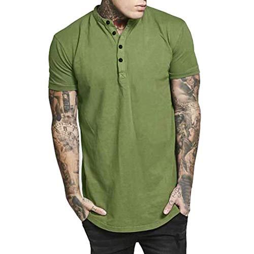 Chemise T-Shirt Homme Manches Courtes Tee Shirt Homme Pas Cher,Honestyi Ete 2019T-Shirt Couleur...