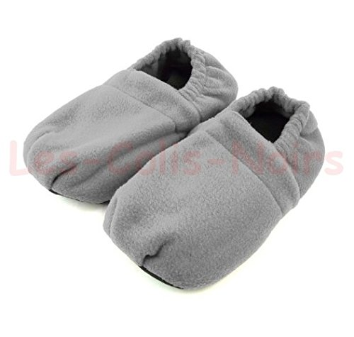 LCN Chaussons Chauffants Gris Taille XL 43/45 Style Hot SOX