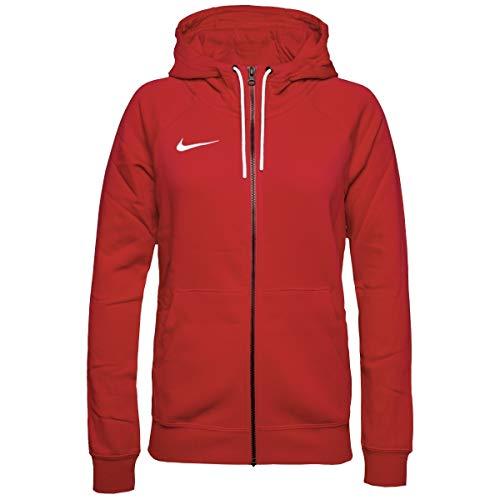 Nike Sweat à Capuche de Football à Manches Longues et Zippé en Molleton pour Femme, Rouge (Université/Blanc), M prix et achat