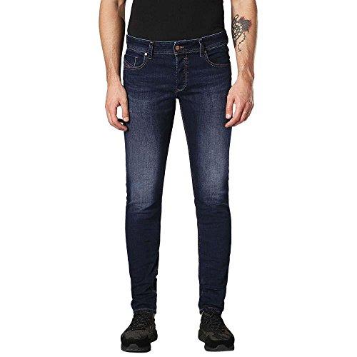 DIESEL Sleenker-00s7vg-084ri-30 Jean Skinny, Bleu (Azul 084ri), 30W / 32L Homme