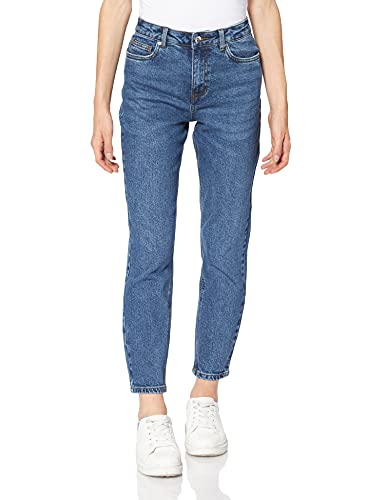 Vero Moda VMBRENDA HR Straight ANK GU390 GA Noos Jeans, Bleu foncé Denim, 28W x 30L Femme prix et achat