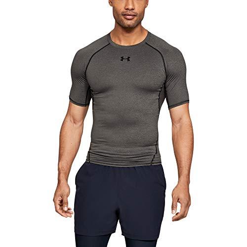 Under Armour 1257468 T-shirts à manches courtes Homme - Gris (Carbon Heather/Black (090) - L