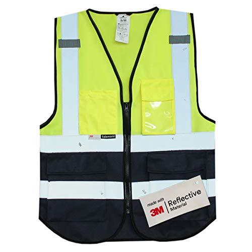 Salzmann Gilet de Sécurité/Gilet de Travail/Veste de Haute Visibilité fabriqué avec...
