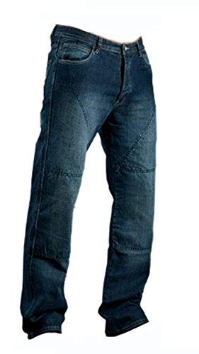Juicy Trendz® Hommes Motorcycle Moto Pantalon Motards Jeans Renforcée Aramide Protection