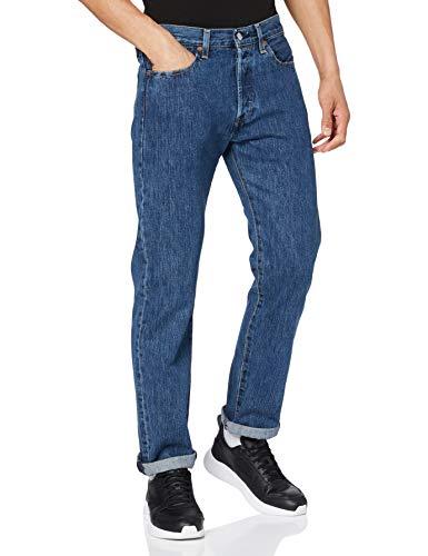 Levi's 501 Original Jeans, Stonewash 80684, 32W/32L Homme