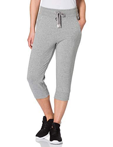 Esprit Sports COO Sweat Pants Pantalon de Yoga, 036/Medium Grey 2, L Femme