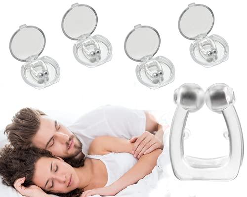 Rissler écarteur nasal anti ronflement efficace - 4 anneaux pince nez contre l'apnée du sommeil – appareil écarteur nasal stop snore – bague pince nez noseclip prix et achat