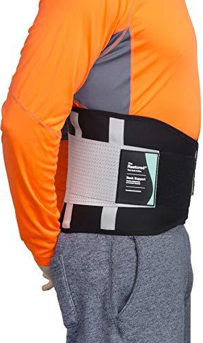 Ceinture lombaire, la seule ceinture certifiée par la UK National Back Pain Association, soulagement des lombaires inférieurs (L) prix et achat