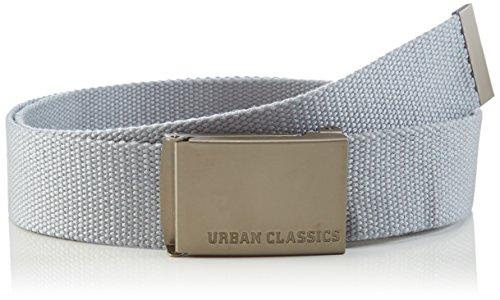 Urban Classics Canvas Belts Ceinture, Gris (Grey), Fabricant: Taille Unique Mixte