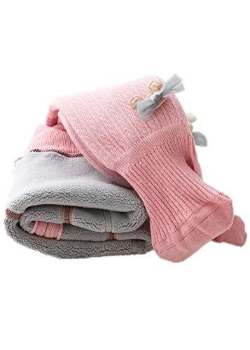 Fliegend Collants Polaires Bébé Enfants/Filles Collants Doublés/Leggings Collants Tricotés pour Tout-Petits/ Chaussettes Hiver pour Bébé Enfants 90-100cm prix et achat