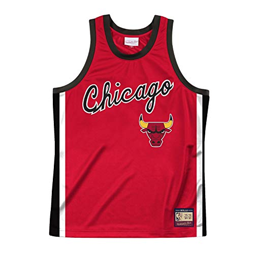 Mitchell & Ness NBA Team Heritage Chicago Bulls Maillot Rouge S rouge