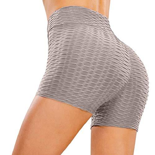 heekpek Femmes Shorts Sport Yoga Butt Lift Legging Court Pantalon de Yoga Taille Haute Short de...