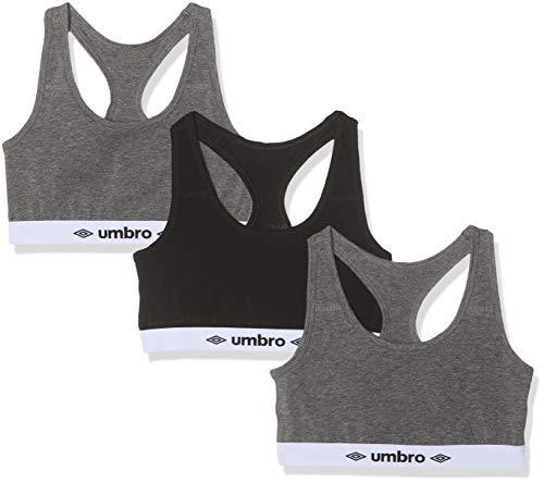 Umbro UMB/AM/BRA2X3 Brassière de sport Femme Multicolore (Multicolore A1 - Mc) Medium