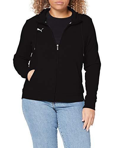 Puma teamGOAL 23 Casuals Hooded Jacket W Veste De Survêtement Femme Puma Black FR : S (Taille Fabricant : S)