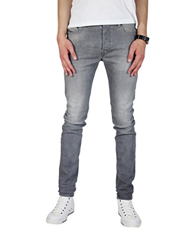 Diesel Homme Akee 0853T Jeans (30W / 30L, Gris)