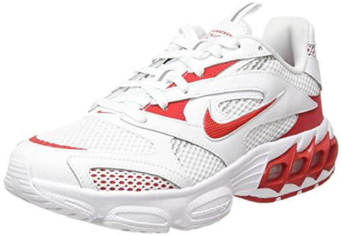 Nike Zoom Air Fire, Sneaker Basse Homme, Blanc (White University Red Metallic Silver), 36 EU prix et achat