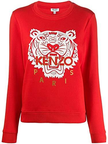 Kenzo Mode De Luxe Femme FA52SW7054Z521 Rouge Coton Sweatshirt | Saison Permanent