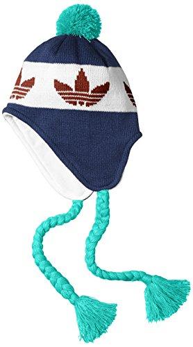 adidas Peruvian Bonnet péruvien pour Homme Taille Unique Blu (Night Marine/Chalk White/St...