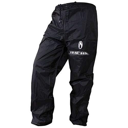 7RW100/6XL - Richa Pluie Warrior Pantalon Textile 6XL Noir prix et achat