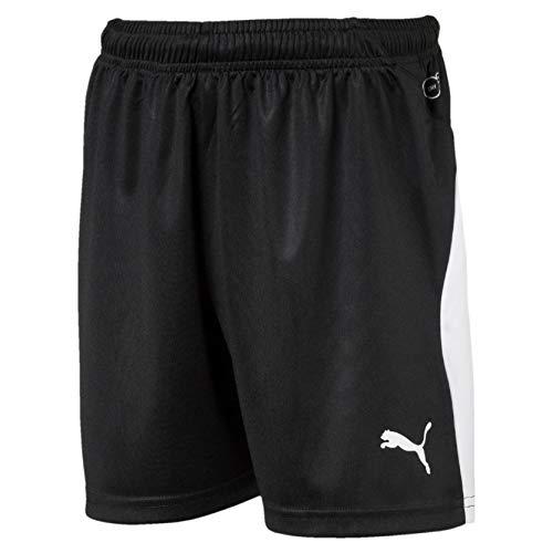 Puma Liga Shorts Jr Mixte Enfant, Black White, 140 prix et achat