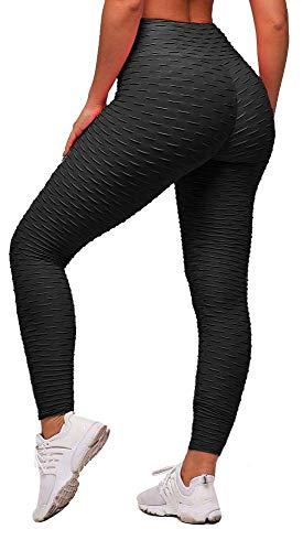 Memoryee Leggings de Compression Anti-Cellulite Slim Fit Butt Lift Elastique Pantalon de yoga...