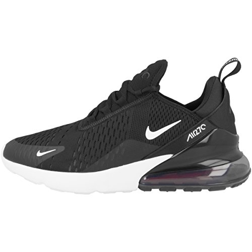 Nike Air Max 270, Chaussures de Running Homme, Multicolore (Black/Anthracite/White/Solar Red...