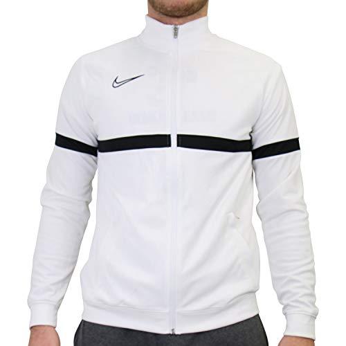 Nike Veste de Football de Survêtement en Tricot pour Homme, Taille 2XL, Blanc/Noir/Noir/Noir