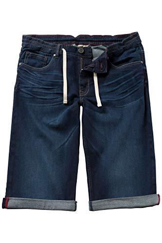 JP 1880 Homme Grandes Tailles Bermuda en Jean, Taille élastiquée, Coton Bleu Jean 56 708366...
