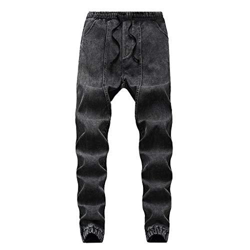 manadlian Jeans Pantalon Survêtement Homme Pantalon de Jogging Training Sport Crayon Pantalons...