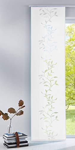 Gardinenbox Tendril Rideau Moderne avec Panneau 100 % Polyester Blanc 245 x 60 cm