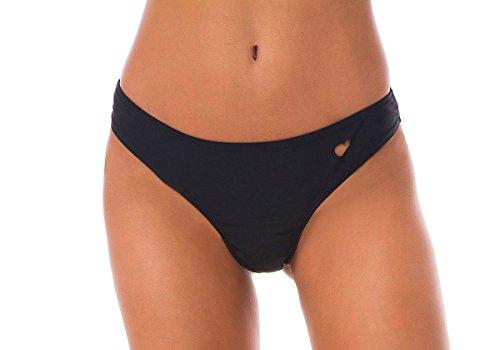 Tuopuda Bas de Maillot de Bain Bresilien Femme Bikini Tanga String Cheeky Bikini Bottom (EU 36,...