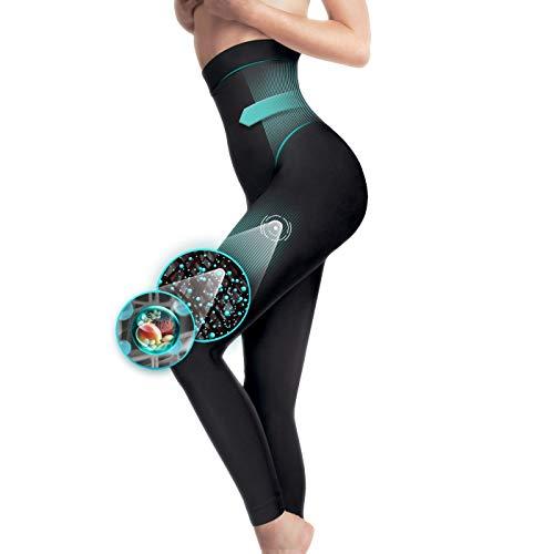 Générique Legging Minceur Taille Haute molletoné Galbant Gainant Anti-Cellulite Taille S M L...