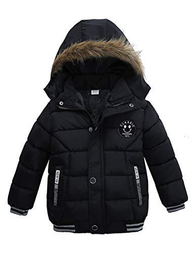 Odziezet Blouson Manteau Fourrure Chaud Enfant Garçon Bébé Ski Vêtement Doudoune à Capuche...