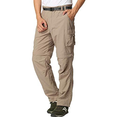 FLYGAGA Pantalon Cargo Homme Travail Randonnée Tactique Militaire Pantalon Noir Respirant et Léger