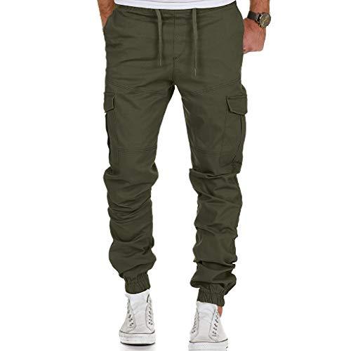 ITISME Homme D'Été Randonnée Pantalons 3/4 avec De Grandes Poches Fitness Shorts Escalade...