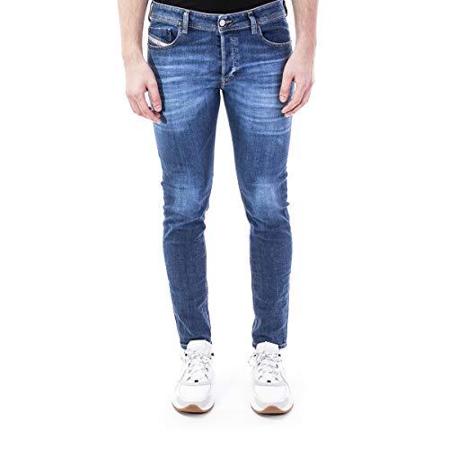DIESEL Sleenker-x L.30 Jeans, 01 Blue Denim, 30 Homme