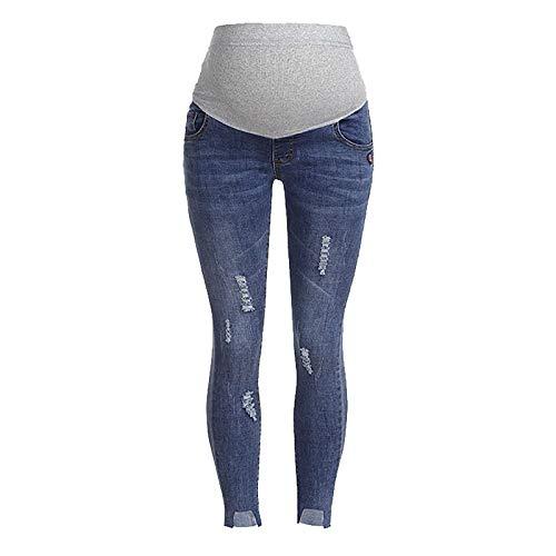 Jeans Jambières de maternité sans couture pour femmes Pantalons Dot Stretch grossesse grande taille pas cher jeans evolutif enceintes vertbaudet fluide grossesses skinny bootcut large prix et achat