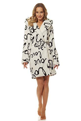 L&L - 9135 Peignoir de Luxe Dream Star en Tissu éponge pour Femmes. Extrêmement léger. Robe...
