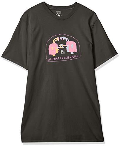 Volcom Subjects S/S Tee T-Shirt pour Homme S Noir