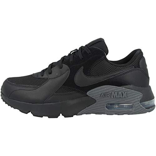 Nike Air Max Excee, Basket Homme, Noir/Noir-Gris Foncé, 44 EU