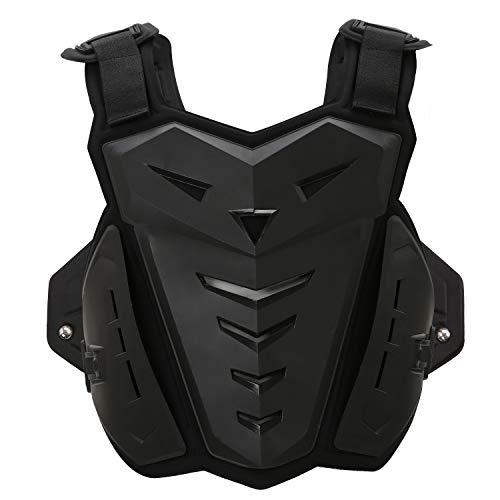 Suntime Armure Moto Gilet Protection Équipement pour Moto Cross Scooter VTT Enduro Patinage Skate Snowboard Homme ou Femme