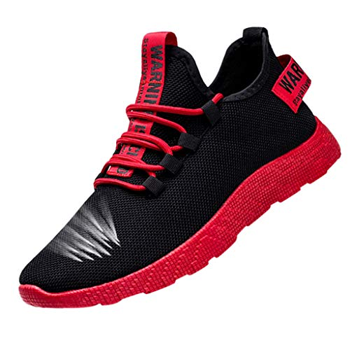 Homme Chaussures De Course Sport Running Respirantes Poids Léger Basket Mode Tendance Basse...