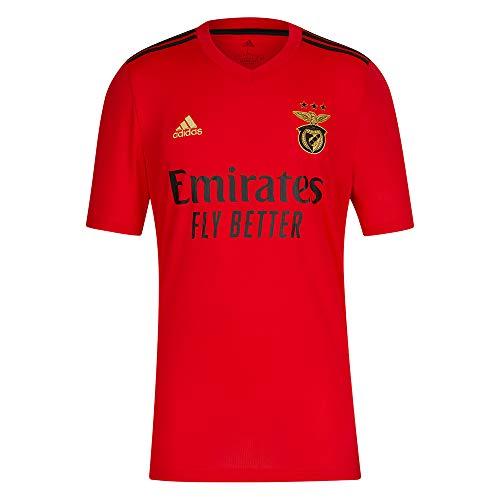 adidas Maillot 1 o Equipácion SL Benfica 2020-21 pour Homme S Rouge, Noir et doré