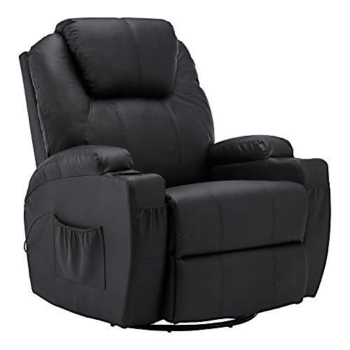 MCombo Fauteuil de Massage Fauteuil inclinable avec siège...